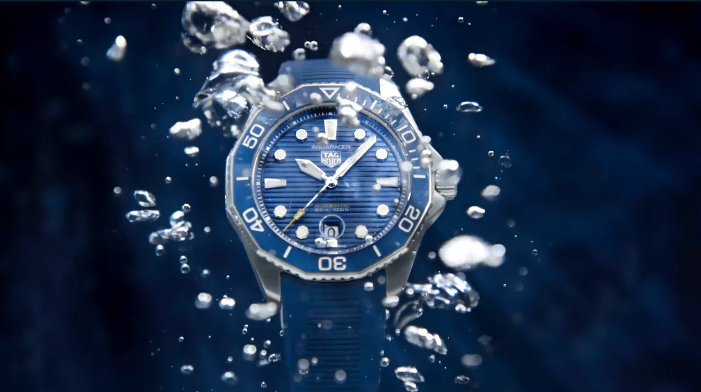 Immerse yourself in TAG Heuer's new Aquaracer Professional 300