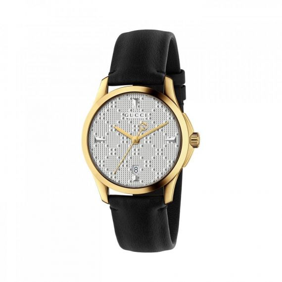 Gucci G-Timeless Yellow Gold PVD Quartz Watch