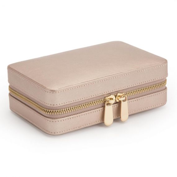 Palermo Zip Case In Rose Gold