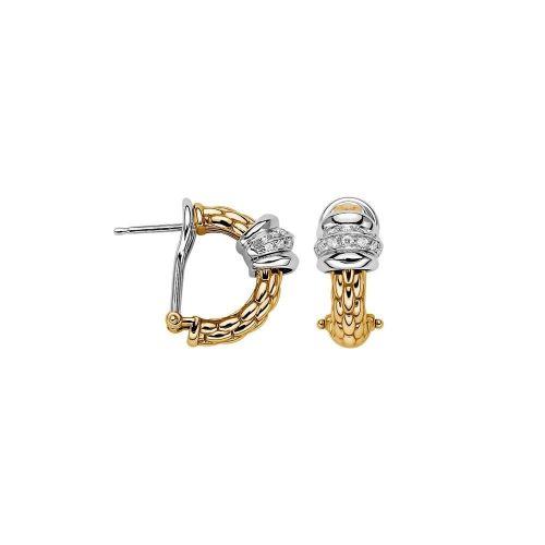 SOLO Diamond Mini Hoop Earrings