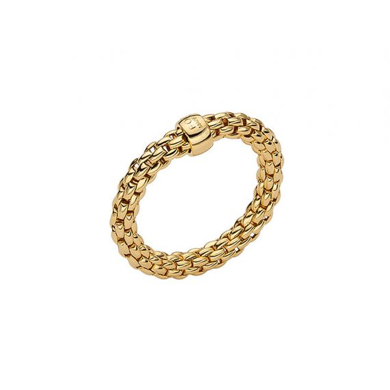 Essentials Collection 18ct Yellow Gold Ring