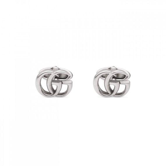 GG Marmont Aged Silver Cufflinks