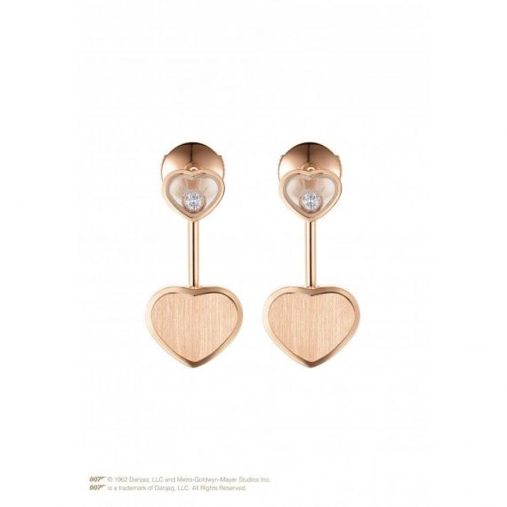 Limited Edition Happy Hearts Golden Hearts Earring