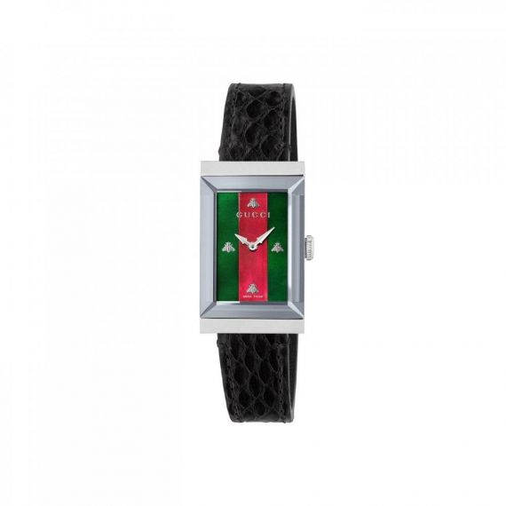 G-Frame Red and Green Quartz Watch