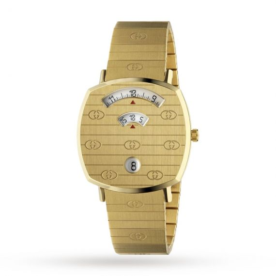 Grip Scale Yellow Gold PVD Watch