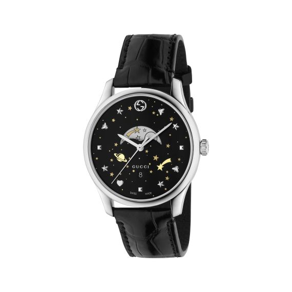G-Timeless Slim Moonphase Watch