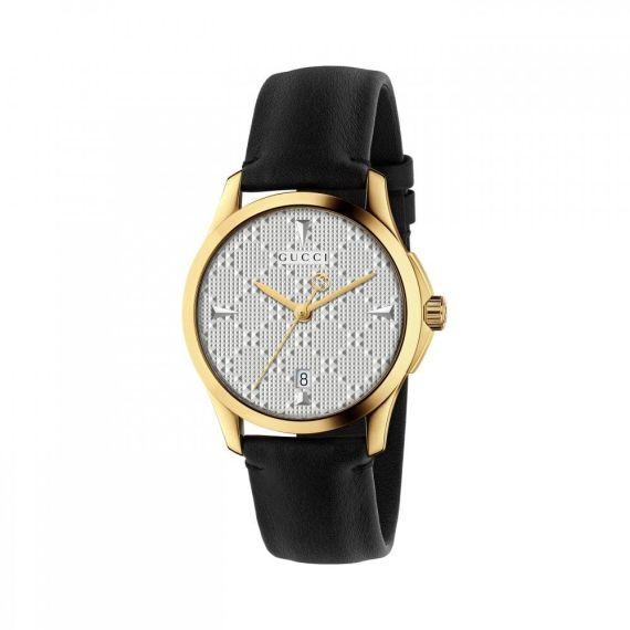 Gucci G-Timeless Yellow Gold PVD Quartz Watch