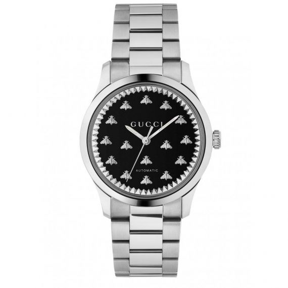 G-Timeless Steel Bee Automatic Watch