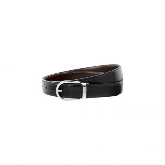 Reversible Leather Black and Brown Belt