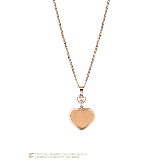Limited Edition 007 Happy Hearts Golden Necklace