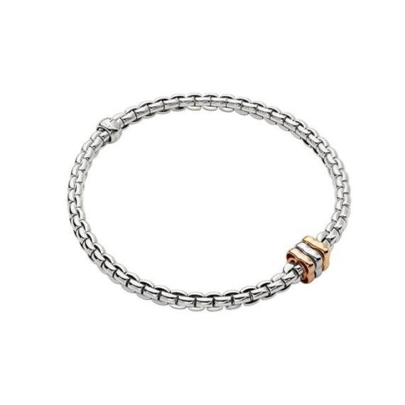 Flex'It EKA Tiny 18ct White Gold Bracelet