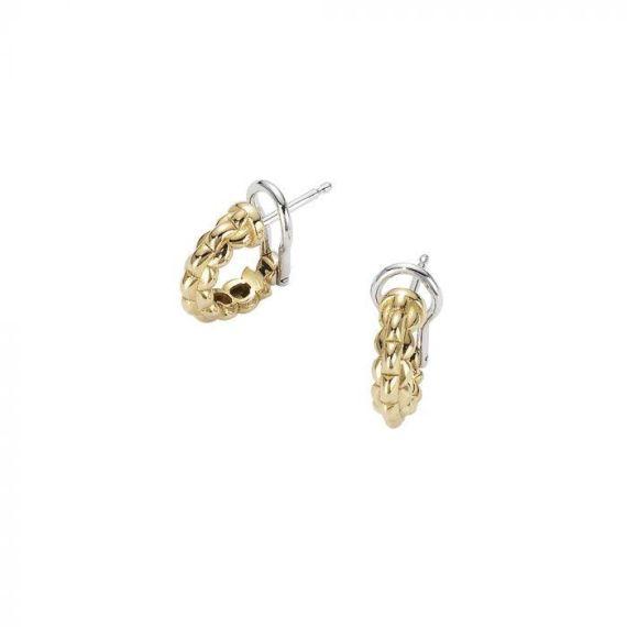 Flex'It EKA Tiny 18ct Yellow Gold Hoop Earrings