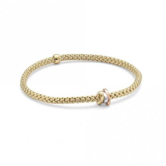 Flex'It Prima 18ct Yellow Gold Bracelet