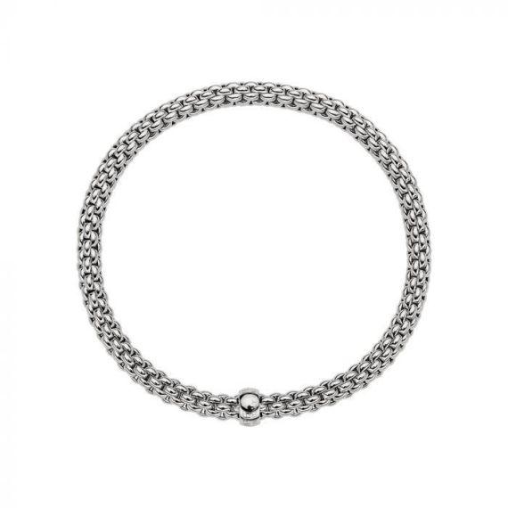Flex'It Solo 18ct White Gold Bracelet