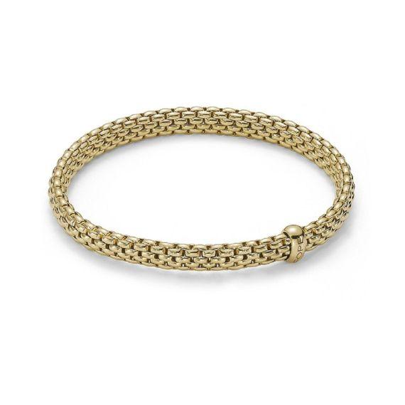 Flex'It Vendome 18ct Yellow Gold Bracelet