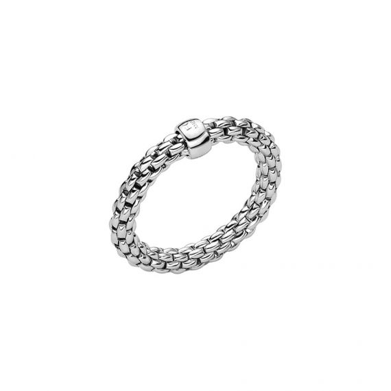 Essentials Collection 18ct White Gold Ring
