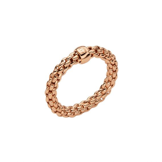 Essentials Collection 18ct Rose Gold Ring
