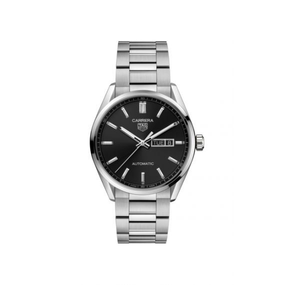 Carrera Thee Hands Day Date 41mm Watch
