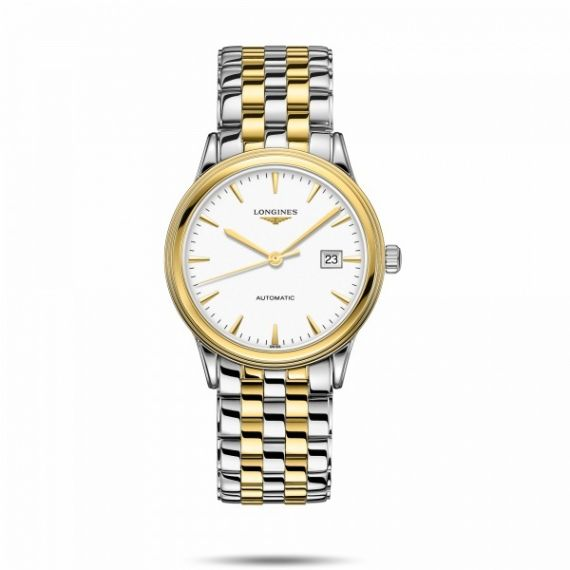 Flagship Steel and Yellow Gold PVD 40mm Automatic Watch