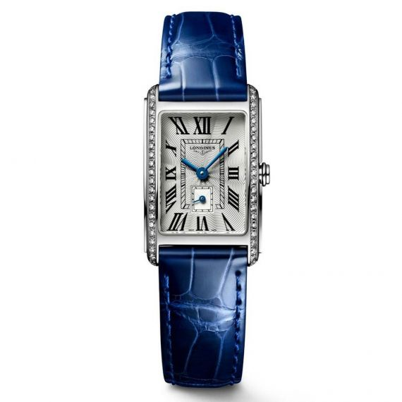 DolceVita Steel 20.8x32mm Quartz Silver Dial Strap Watch