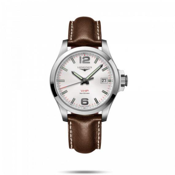 Conquest VHP Quartz 41mm Strap Watch
