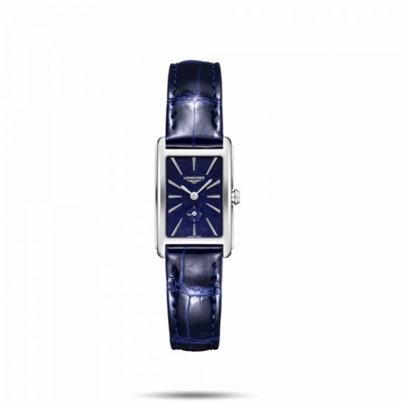 DolceVita Steel 20.8x32mm Quartz Blue Dial Watch