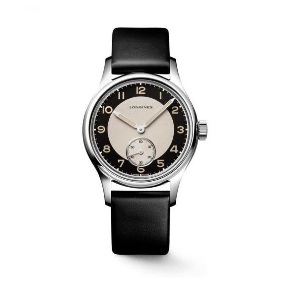 Heritage Classic - Tuxedo Steel 38.5mm Automatic Strap Watch