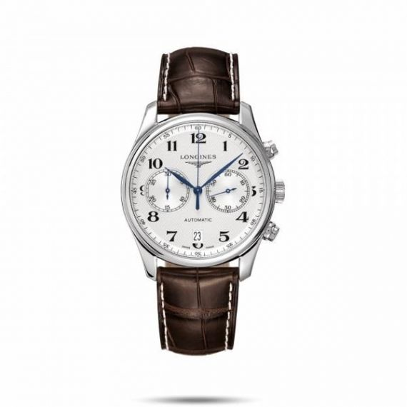 Master Collection Steel 40mm Automatic Chronograph Watch