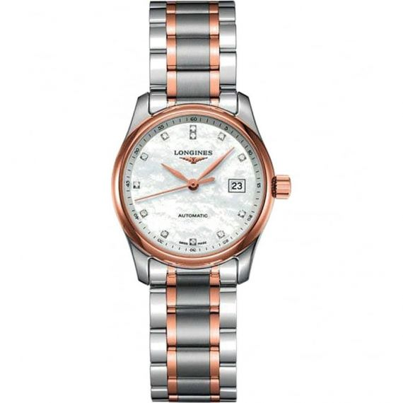 Master Collection Automatic Steel and Rose Gold
