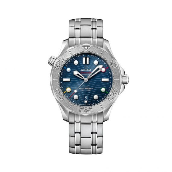 Seamaster Diver 300 'Bejing 2022' Steel 42mm Automatic Watch