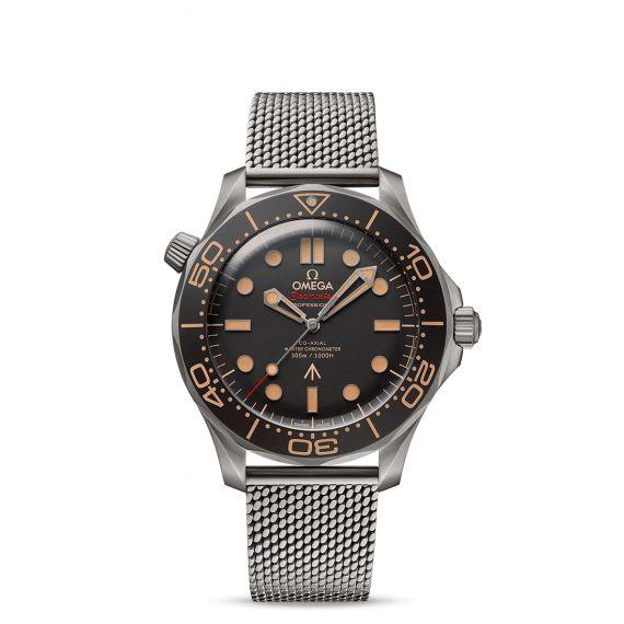 Seamaster Diver 300m Co-Axial Master Chronometer 42mm James Bond 007 Edition Watch