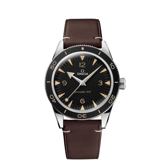 Seamaster 300 Steel 41mm Co-Axial Master Chronometer Strap Watch