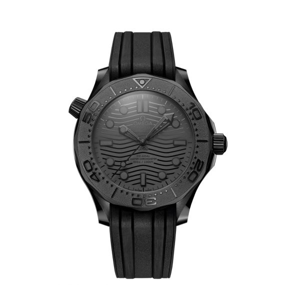 Seamaster Diver 300M Black Black 43mm Watch