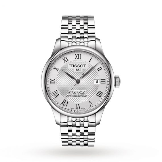 T-Classic Le Locle Powermatic 80 Steel 39.3mm Automatic Watch