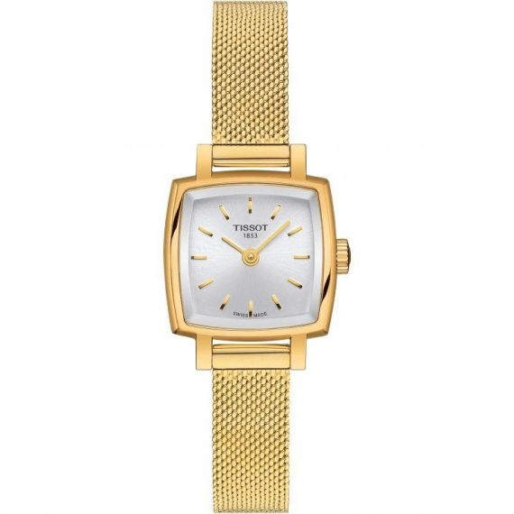 T-Lady Lovely Square Yellow Gold PVD 20mm Quartz Watch