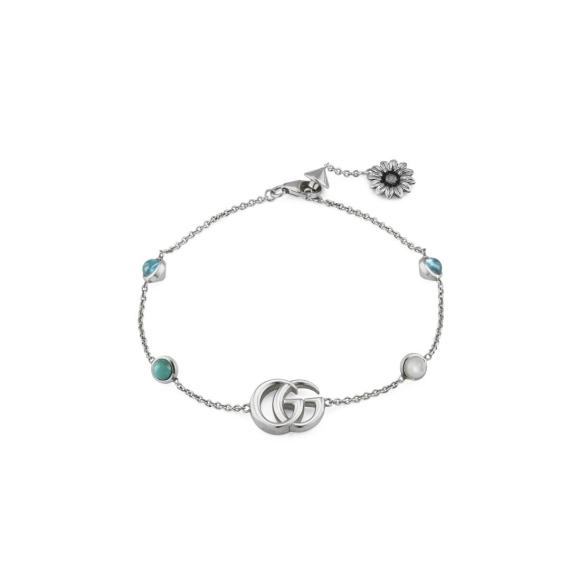 GG Marmont Flower Bracelet - size 17