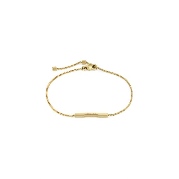 Link To Love 18ct Yellow Gold Bracelet - 16cm