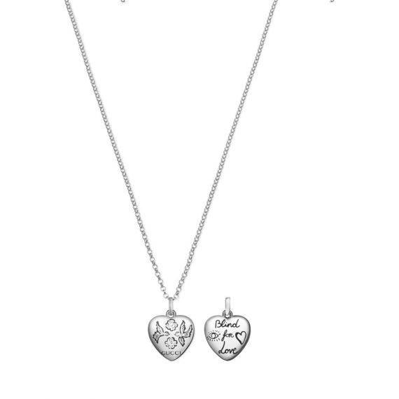 Blind For Love Pendant and Chain