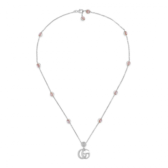 GG Marmont Mother Of Pearl Necklace 42cm