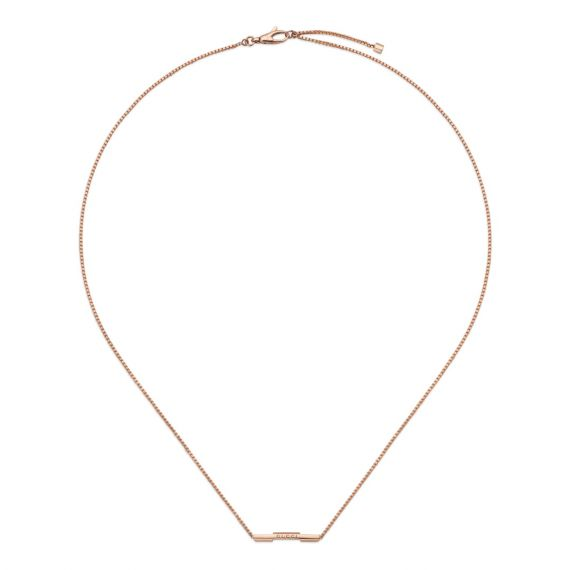 Link To Love 18ct Rose Gold Necklace